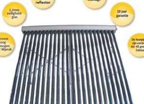 Zonneboiler bespaart meer dan zonnepanelen